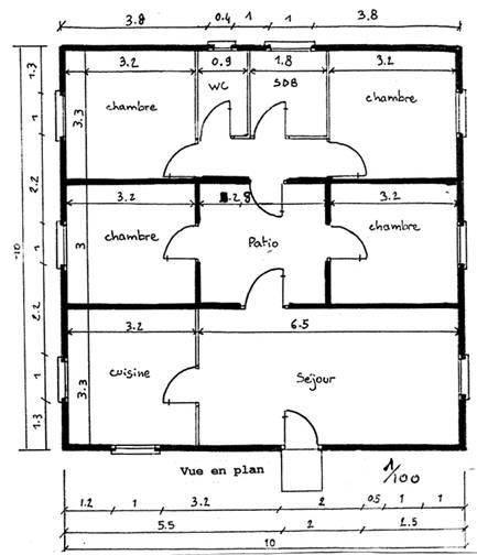 Plan De Masse De Maison Nicolas C Guillot Architecte Studio Erick